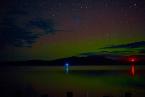 Aurora from the old jetty site at Middleton, #1